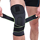 זול רצועות נורות LED-סד לברך שרוול ברך ל ריצה כדורסל כדורגל עמיד בזעזועים אלסטי הגנה ניילון שיער טויוקלון אֵמוּלְסִיָה יחידה 1 ספורט חוץ אתלטי כתום ירוק