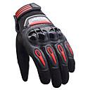 זול מדי לחץ אוויר לצמיגים-אצבע מלאה אופנוע בחוץ למים מסך מגע כפפות כפפות עור פחמן