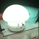 billige Belysning Tilbehør-1pc Globe LED Night Light / Nursery Night Light Usb Stress og angst relief / Genopladelig / Farveskiftende 5 V