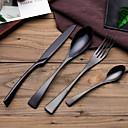 hesapli Çatal Bıçak Takımı-yemek takımı 4adet Çevre-dostu Yeni Dizayn Paslanmaz Çelik Yemek Çatalı Yemek Bıçağı Çöl Kaşığı