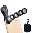 povoljno Stolne svjetiljke-Leća za mobitel Objektiv s filterom / Fish-eye objektiv / Objektiv za duboki fokus staklo / Aluminijska legura / ABS + PC 2X 25 mm 10 m 198 ° Kreativan / Lijep / smiješno