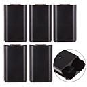 رخيصةأون اكسسوارات اكس بوكس 360-5xaa غطاء البطارية الغلاف packbox استبدال xbox360wirelesscontroller الأسود