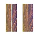 halpa Leivontavälineet-2kpl / set luova violetti lehdet kasvi klassinen ovi tarra diy seinämaalaus sisustus juliste pvc vedenpitävä tarra