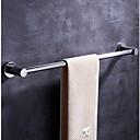 זול מוטות למגבות-מתלה מגבת עיצוב חדש / מגניב עכשווי פלדת על חלד 1pc - חדר אמבטיה 1-מגבת בר מותקן על הקיר