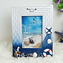 cheap Tabletop Picture Frames-Modern Contemporary Wood Shiny Picture Frames, 1pc