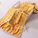 זול מגבת רחצה-איכות מעולה מגבת רחצה, גיאומטרי תערובת כותנה / פשתן חדר אמבטיה 1 pcs