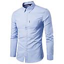 זול בגדי ריצה-אחיד בסיסי חולצה - בגדי ריקוד גברים כחול נייבי