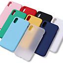 povoljno iPhone maske-Θήκη Za Apple iPhone XS / iPhone XR / iPhone XS Max Otporno na trešnju / Vodootpornost Stražnja maska Jednobojni Mekano TPU