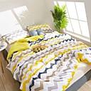 זול שמיכות וכיסויי מיטה-נוֹחַ - 1 יחידה שמיכה קיץ פוליאסטר פסים / פשוט