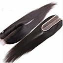 זול תאורת אופנוע-Clytie שיער ברזיאלי תחרה מלאה ישר חלק התיכון חלק אמצעי תחרה שווייצרית שיער אנושי בגדי ריקוד נשים extention / נוער בית הספר / פגישה (דייט) / שחור