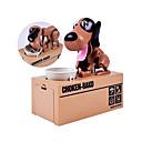 זול אביזרים למטבח-כסף משחק ובנקאות כלבים מקסים צעצועים מוזרים צעצועים לחץ לחץ דם פלסטיק ומתכת לילד כל צעצועים מתנות