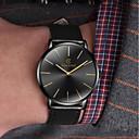 זול תבניות לעוגות-בגדי ריקוד גברים שעוני שמלה קווארץ עור שחור / חום שעונים יום יומיים אנלוגי אופנתי מינימליסטי פשוט לצפות - שחור / כחול שחור / זהב לבן / Beige שנה אחת חיי סוללה