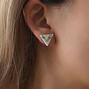 preiswerte Halsketten-Damen Klassisch Ohrring Ohrringe Schmuck Weiß / Schwarz Für Festtage Festival 1 Paar
