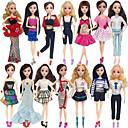 ราคาถูก Reborn Dolls-ไม่เป็นทางการ ผู้ใช้บริการ สำหรับ Barbiedoll เส้นใยสังเคราะห์ ชุดเดรส สำหรับ ของหญิงสาว ของเล่นตุ๊กตา