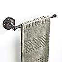 povoljno Perike s ljudskom kosom-retro crni reljefni šasija ručnik bar novi dizajn zemlja / starinski mjed 1pc - kupaonica / hotel kupka zid montiran