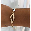 זול צמידי גברים-בגדי ריקוד גברים צמיד חברות רטרו ציפוי טרנדי אופנתי סגסוגת צמיד תכשיטים זהב עבור יומי רחוב