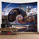 billiga Wall Tapestries-Trädgårdstema / Klassisker Tema Väggdekor 100% Polyester Moderna Väggkonst, Vägg Tapestries Dekoration