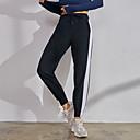 halpa Kodinkoneet-Naisten Jogger-housut Juoksuhousut Urheilu Color Block Elastaani Pants Alaosat Juoksu Fitness Hölkkä Activewear Hengittävä Nopea kuivuminen Pehmeä Hikeä siirtävä Mikrojoustava Löysä