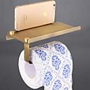 זול מחזיקי נייר טואלט-מחזיק נייר טואלט עיצוב חדש / מגניב מודרני פליז 1pc מותקן על הקיר