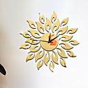זול שעוני קיר-סגנון מודרני אקרילי לֹא סָדִיר בבית / בטבע