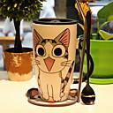 זול כלי שתייה-drinkware ספלים & כוסות חַרְסִינָה אנימציה יום יומי\קז'ואל