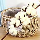 זול פרחים מלאכותיים-פרחים מלאכותיים 1 ענף קלאסי מסוגנן צמחים פרחים לשולחן