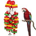זול אביזרים לציפורים-ציפור מוטות וסולמות ידידותי לחיות מחמד פוקוס צעצוע הרגשתי / צעצועים בד Parrot עץ 50 cm