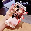 זול שרשראות חרוטות-במקרה הטלפון במקרה פני השטח הטלפון במקרה עם טבעת בצורת דוב&amp לעמוד עבור iPhone 5/6 / 6p / 7 / 7p / 8 / 8p / x / xs / xr / xs max