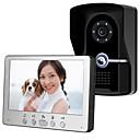 Недорогие IP-камеры для помещений-815fg11 ультратонкий 7-дюймовый проводной видео дверной звонок HD вилла один на один видео домофон наружный блок ночного видения функция разблокировки дождя