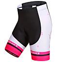 cheap Cycling Jersey & Shorts / Pants Sets-WOSAWE Women's Cycling Padded Shorts Bike Shorts Padded Shorts / Chamois Pants Windproof Breathable Quick Dry Sports Stripes Polyester Spandex Black / Pink Mountain Bike MTB Road Bike Cycling