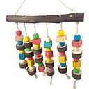 זול אביזרים לציפורים-ציפור מוטות וסולמות ידידותי לחיות מחמד פוקוס צעצוע הרגשתי / צעצועים בד ציפור עץ 26 cm