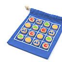 זול דלת חומרה & מנעולים-משחק שחמט צעצועים מוזרים עבודת יד אינטראקציה בין הורים לילד בד אוקספורד דמוי עור ילדים תינוק כל צעצועים מתנות 10 pcs