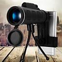 זול צלליות-40x60 bak4 טלסקופ חד שבב מיני מיניקולרי עבור חוצות ציד קמפינג עם הטלפון קליפ