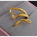 זול סטים של תכשיטים-בגדי ריקוד נשים פתח את הטבעת 1pc זהב כסף פלדת טיטניום Geometric Shape פאנק מתנה יומי תכשיטים רטרו חיה מגניב