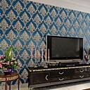 hesapli Avizeler-duvar kağıdı Dokunmamış Duvar Kaplamaları - Yapıştırıcı gerekli Çiçek / Botanik