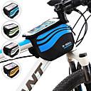 זול כיסויים-טלפון נייד תיק 5.8 אִינְטשׁ רכיבת אופניים ל iPhone 8/7/6S/6 iPhone 8 Plus / 7 Plus / 6S Plus / 6 Plus iPhone X כסף כתום כחול סקיי אופנייים