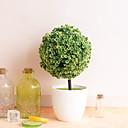 זול אוהד-1pc כדור שלג כדור שלג סימולציה צמח דשא כדור בונסאי עץ קטן קישוט פרחים קישוט כדור מיני יצירתי