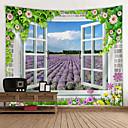 halpa Seinämaalaukset-Kukkais-teema / Klassinen teema Wall Decor 100% polyesteri Moderni Wall Art, Seinävaatteet Koriste