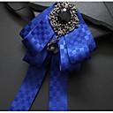 זול אביזרים לגברים-עניבת פפיון - Houndstooth מסיבה בגדי ריקוד גברים / בנים