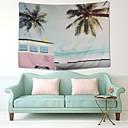זול שטיחי קיר-נושאי גן / נושא בוהמי קיר תפאורה 100% פוליאסטר ים- תיכוני / בוהמיה וול ארט, קיר שטיחי קיר תַפאוּרָה