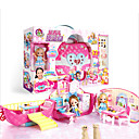 זול אביזרים למטבח-משחקי דמויות ג'ל PP+ABS ילדים גן כל צעצועים מתנות 56 pcs