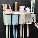 זול גאדג'טים לאמבט-כלים יצירתי / מודרני, חדשני מודרני עכשווי פלסטיק 2pcs - כלים מברשת שיניים ואביזרים