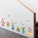 halpa Seinätarrat-Koriste-seinätarrat - Lentokone-seinätarrat Kukkakuvio / Kasvitiede Makuuhuone / Sisällä