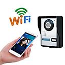 olcso Videó kaputelefonok-wifi nincs képernyő (kimenet app) wifi / ip ajtócsengő hd 1080p vízálló videó csengő hívás intercom távoli kinyit funkció
