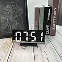 זול שעונים מעוררים-שעון שעון מודרני מודרני עכשווי פלסטיק מרובע