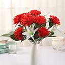 זול צמחים מלאכותיים-פרחים מלאכותיים 1 ענף קלאסי מודרני אדמוניות פרחים לשולחן
