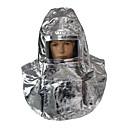 זול חזיות ספורט-חומר מיוחד נייר אלומיניום חליפת מגן הגנה כפולה מסכת גז / בטיחות עמידות לשחיקה עמיד לאבק יציאת חירום