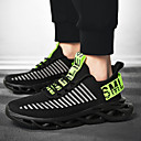 זול נעלי ספורט לגברים-בגדי ריקוד גברים נעלי קלונקי Tissage וולנט אביב קיץ / סתיו חורף ספורטיבי / יום יומי נעלי אתלטיקה ריצה / הליכה נושם לבן / שחור / ירוק