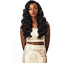 זול פיאות תחרה משיער אנושי-שיער אנושי חזית תחרה פאה חלק חינם בסגנון שיער ברזיאלי Body Wave שחור פאה 130% צפיפות שיער נשים בגדי ריקוד נשים ארוך אחרים Clytie
