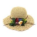 זול מדבקות קיר-- כובעים / אביזר לשיער עם כובע חלק 1 לבוש יומיומי / בָּחוּץ כיסוי ראש